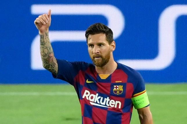 Lionel Messi bat ngo muon roi Barca