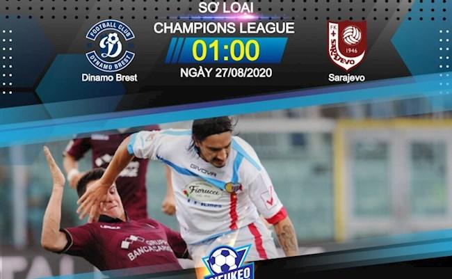 Dinamo Brest vs Sarajevo 1h00 ngày 278 Champions League hình ảnh