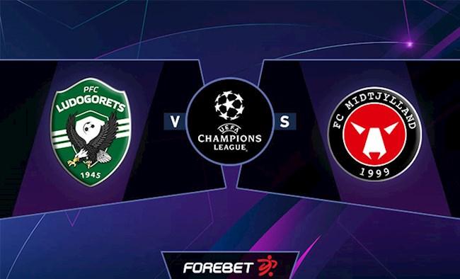 Ludogorets vs Midtjylland 0h30 ngày 278 Champions League hình ảnh