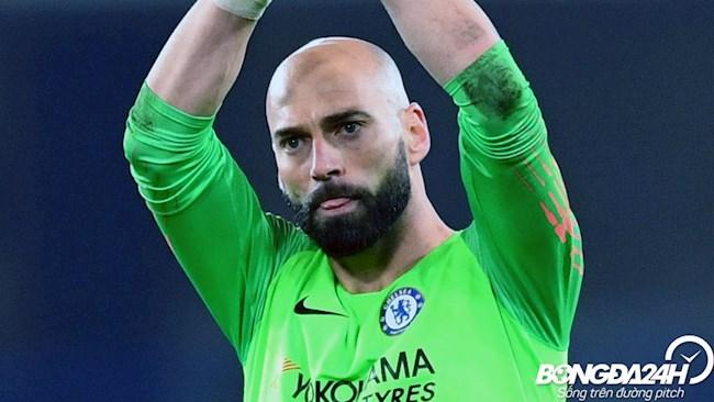 Tiểu sử thủ môn Willy Caballero của CLB bóng đá Chelsea hình ảnh