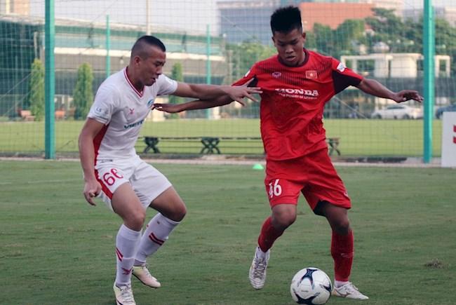 U22 Việt Nam cầm hòa Viettel sau màn rượt đuổi bàn thắng hình ảnh
