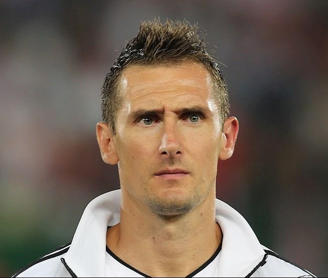 Miroslav Klose la cau thu ghi nhieu ban thang nhat cho doi tuyen Duc voi 71 ban.