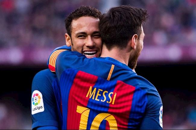Tiền đạo Lionel Messi gọi điện thuyết phục Neymar tới Man City hình ảnh