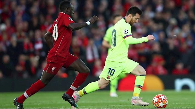 Barca nhắm tiền đạo Sadio Mane thay Lionel Messi hình ảnh