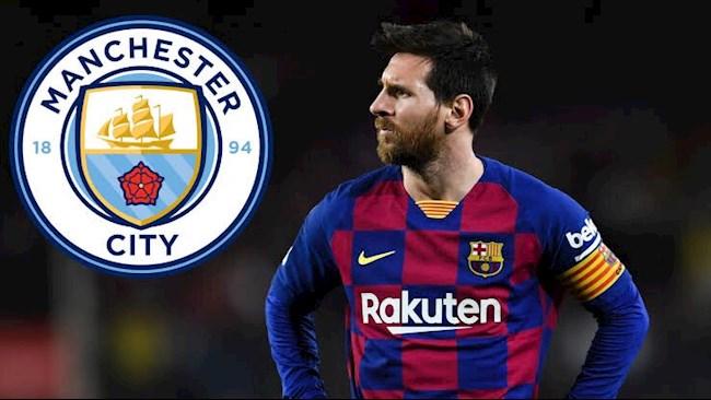 Lionel Messi Man City