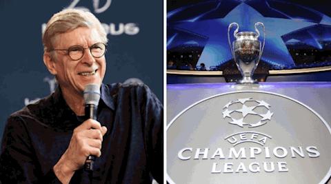 Arsene Wenger du doan doi vo dich Champions League mua nay