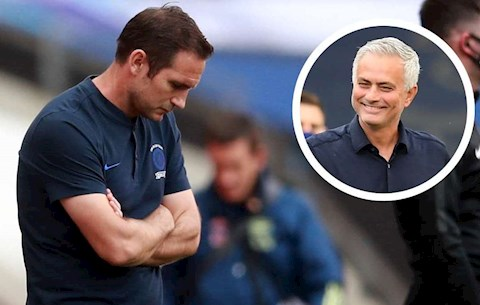 Lampard va Mourinho