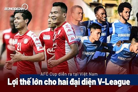 AFC Cup diễn ra tại Việt Nam Lợi thế cho 2 đại diện V-League hình ảnh