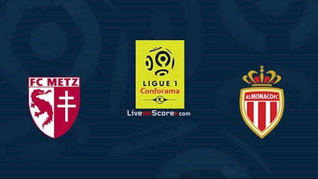 Metz vs Monaco 20h00 ngày 308 Ligue 1 hình ảnh