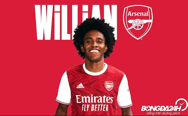 Tiểu sử cầu thủ Willian tiền vệ của câu lạc bộ Arsenal hình ảnh