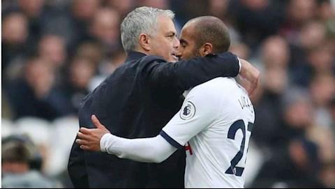 HLV Mourinho khen ngợi sự hy sinh của tiền đạo Lucas Moura hình ảnh
