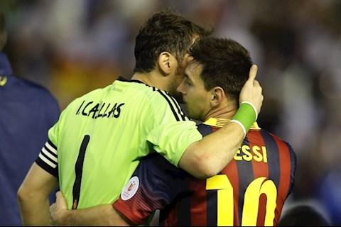 Iker Casillas nghỉ hưu, Lionel Messi có vài lời nhắn gửi hình ảnh 2