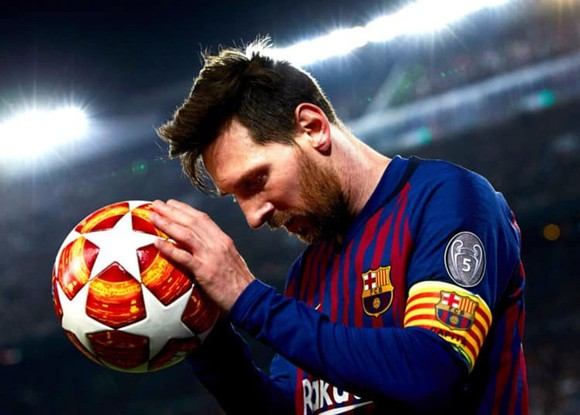 Choang vang voi phong do khung khiep cua Lionel Messi o vong 1/8 C1