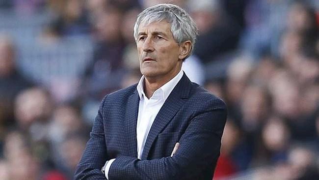 HLV Setien tuyên bố không sợ bị Barca sa thải hình ảnh