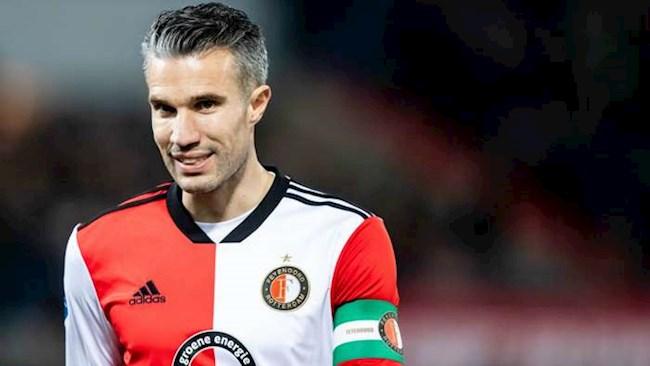 Van Persie tro lai Feyenoord lam tro ly HLV