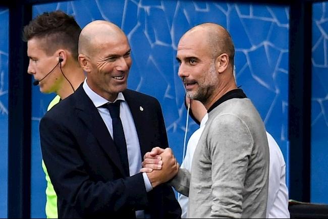 HLV Zinedine Zidane nói về tương lai sau trận thua Man City hình ảnh