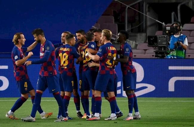 Barca vào tứ kết Champions League Đâu khó, có Messi! hình ảnh