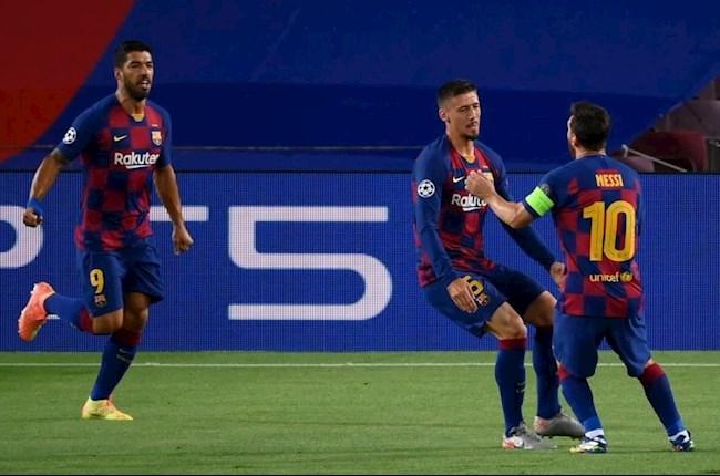 Barca vs Napoli Messi va Lenglet