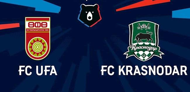 Ufa vs Krasnodar 21h00 ngày 98 VĐQG Nga 202021 hình ảnh