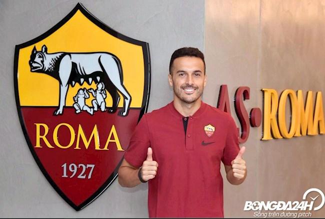 Tiểu sử cầu thủ Pedro tiền đạo của câu lạc bộ AS Roma hình ảnh
