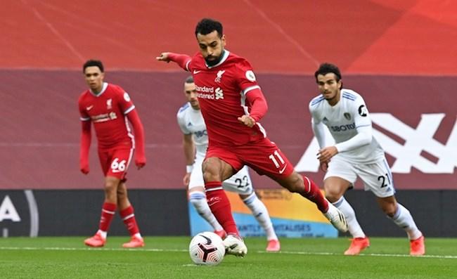 Tiền đạo Mohamed Salah đi vào lịch sử Premier League hình ảnh