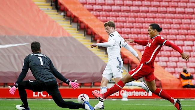 Van Dijk mac sai lam truoc Leeds