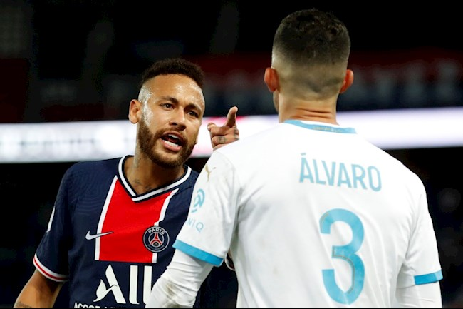 Neymar thêm một lần chửi thẳng mặt sao Marseille hình ảnh