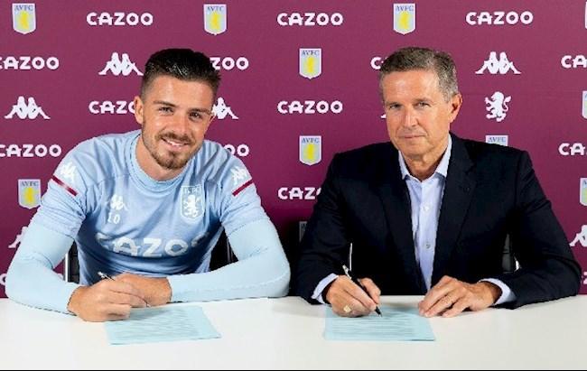 Trước khi được Villa nâng lương, Jack Grealish vẫn mơ về MU hình ảnh