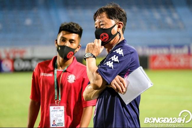 Chung Hae Seong Ha Noi vs TP HCM cup Quoc gia 16/9