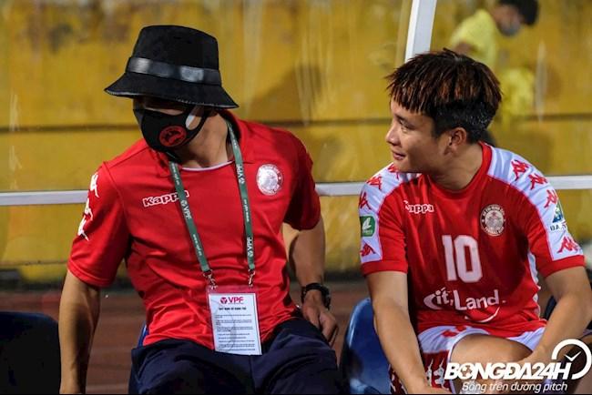 Cong Phuong Ha Noi vs TP HCM cup Quoc gia 16/9