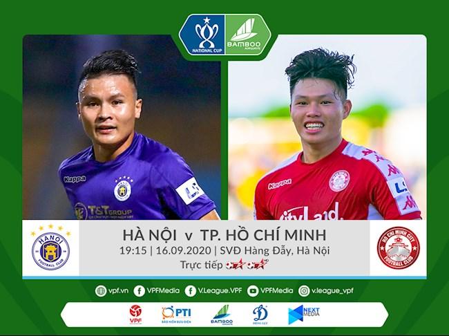 Hà Nội vs TPHCM link xem trực tiếp bóng đá cúp quốc gia 2020 hình ảnh