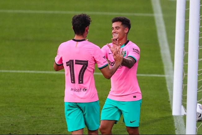 Messi chói sáng trong màn tập dượt trước mùa giải của Barca hình ảnh 2