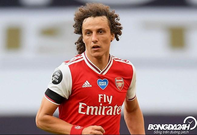 Tiểu sử cầu thủ David Luiz trung vệ của câu lạc bộ Arsenal hình ảnh