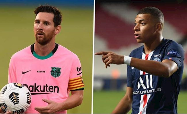 Messi va Mbappe