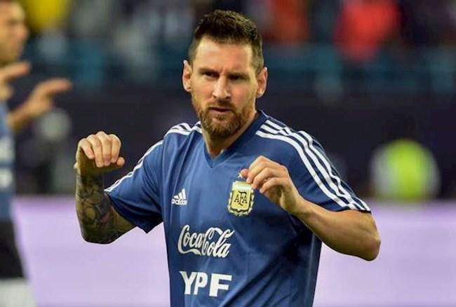 Lionel Messi được gọi lên ĐT Argentina dự vòng loại World Cup hình ảnh