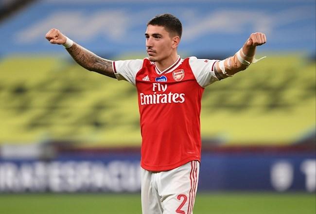 Arsenal đàm phán bán hậu vệ Hector Bellerin cho PSG hình ảnh