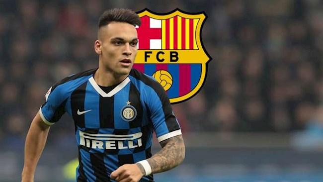 Barca nhận tin buồn từ thương vụ Lautaro Martinez hình ảnh