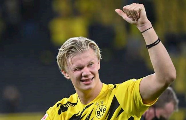 Giúp Dortmund thắng đậm, Erling Haaland nổ vang hình ảnh