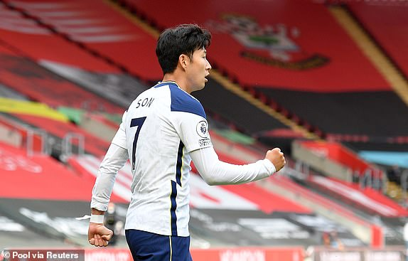 Son Heung Min can bang ty so