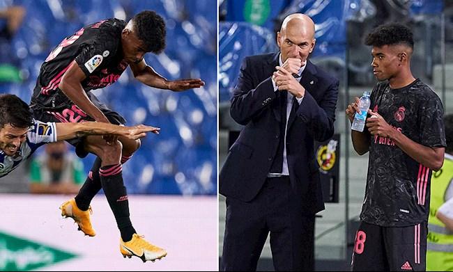 Thông tin hai sao trẻ Real Madrid ra san ở trận hòa Sociedad hình ảnh