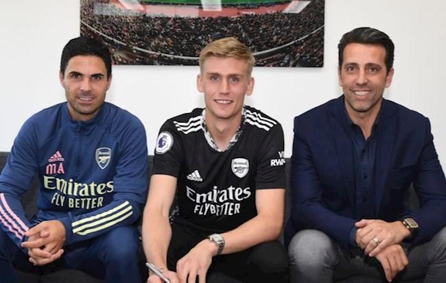 Tin Chuyển nhượng Arsenal chính thức mua thủ môn Runarsson hình ảnh