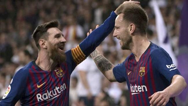 Rakitic thừa nhận chưa bao giờ thân thiết với Messi ở Barca hình ảnh