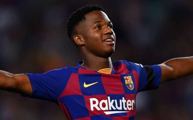 Barca trói chân thành công thần đồng Ansu Fati hình ảnh