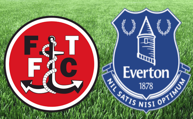 Fleetwood vs Everton