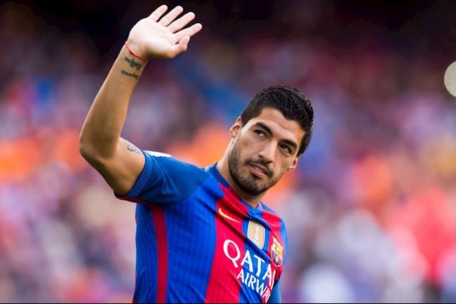 Rot nuoc mat voi loi chia tay Suarez gui toi Barca