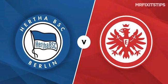 Hertha Berlin vs Frankfurt