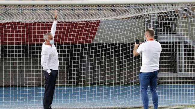 Mourinho Khung thành của Shkendija nhỏ hơn bình thường 5cm hình ảnh