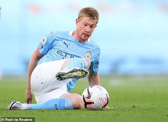 Man City chuẩn bị gia hạn hợp đồng với De Bruyne hình ảnh