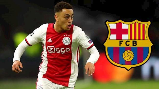 Barca chiêu mộ thành công hậu vệ Sergino Dest từ Ajax hình ảnh