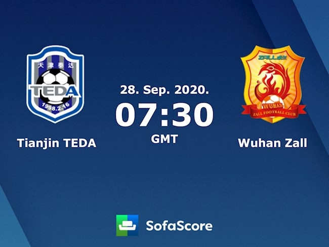 Tianjin Teda vs Wuhan Zall